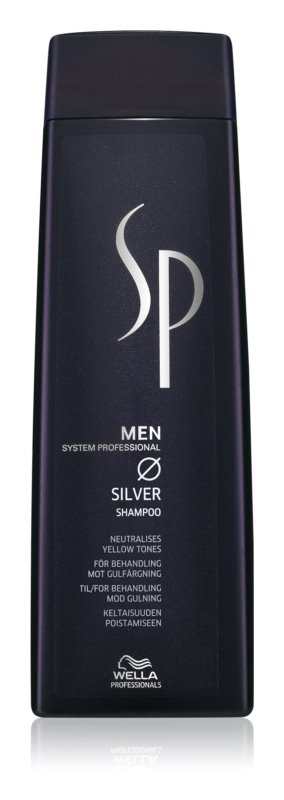 Wella Professionals SP Men champú para cabello con canas