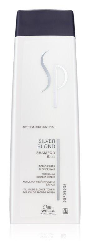 Wella Professionals SP Silver Blond šampon za blond in sive lase