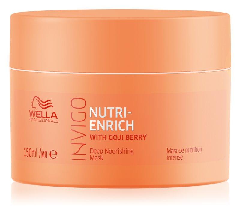 Wella Professionals Invigo Nutri - Enrich hloubkově vyživující maska na vlasy