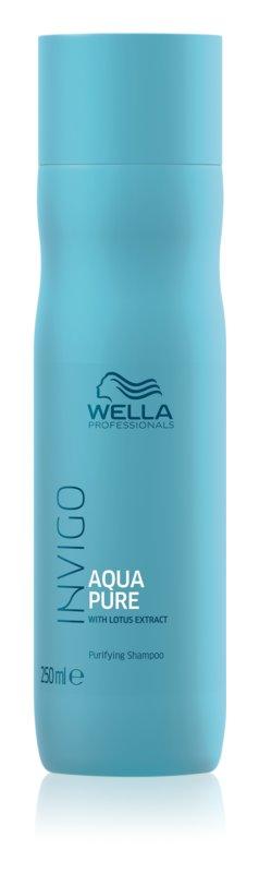 Wella Professionals Invigo Aqua Pure hĺbkovo čistiaci šampón