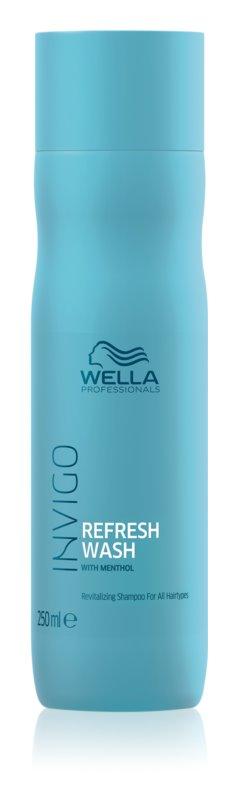 Wella Professionals Invigo Refresh Wash revitalizačný šampón pre všetky typy vlasov