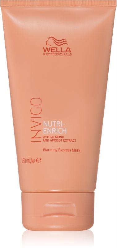 Wella Professionals Invigo Nutri - Enrich regenerační maska na vlasy se samozahřívacím efektem