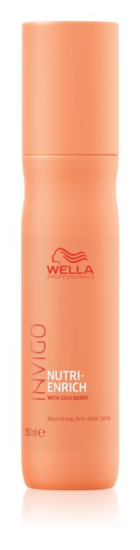 Wella Professionals Invigo Nutri - Enrich Leave-in Spray for Smoothing and Nourishing Dry and Unruly Hair