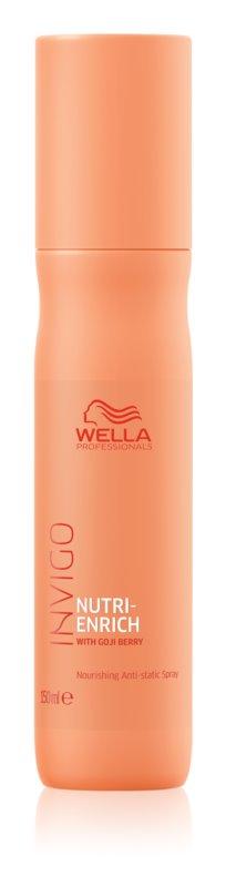 Wella Professionals Invigo Nutri - Enrich спрей без отмиване за изглаждане и подхранване на непокорна коса