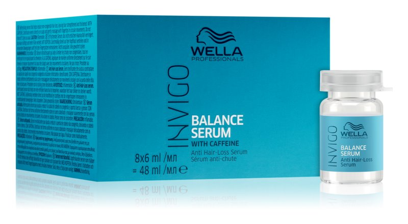Wella Professionals Invigo Balance Serum sérum proti řídnutí a vypadávaní vlasů