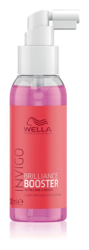 Wella Professionals Invigo Brilliance Booster Concentrate for Hair Color Enhancement