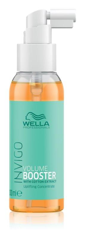 Wella Professionals Invigo Volume Booster concentrado para cabelo para aumentar o volume