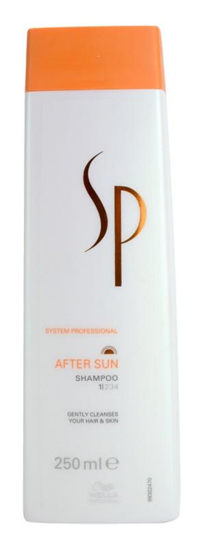 Wella Professionals SP After Sun Shampoo für von der Sonne überanstrengtes Haar