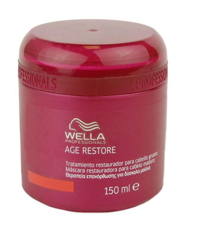 Wella Professionals Age Restore máscara para cabelo áspero e seco