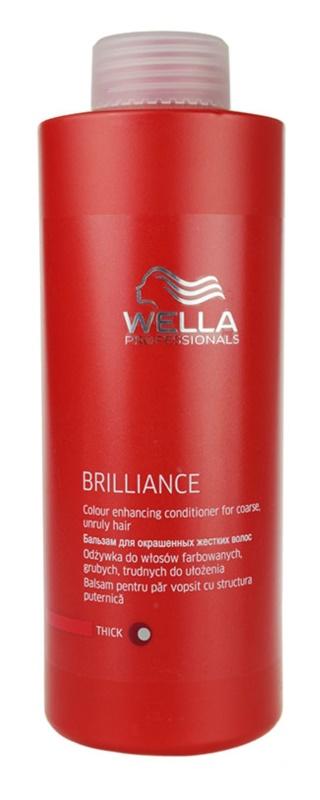 Wella Professionals Brilliance kondicionáló a vastagszálú, festett hajra
