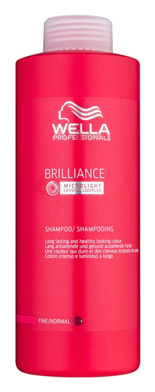 Wella Professionals Brilliance champú para cabello fino y teñido