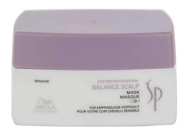 Wella Professionals SP Balance Scalp máscara para o couro cabeludo sensível