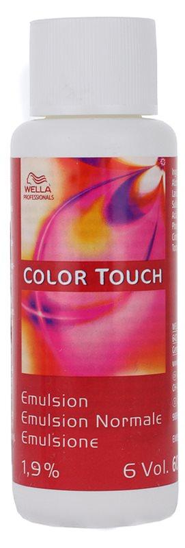 Wella Professionals Color Touch lotiune activa 1,9 % 6 vol.