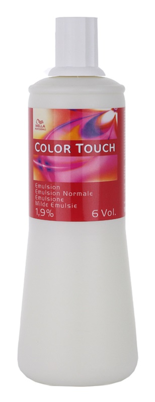 Wella Professionals Color Touch aktivačná emulzia 1,9 % 6 vol.