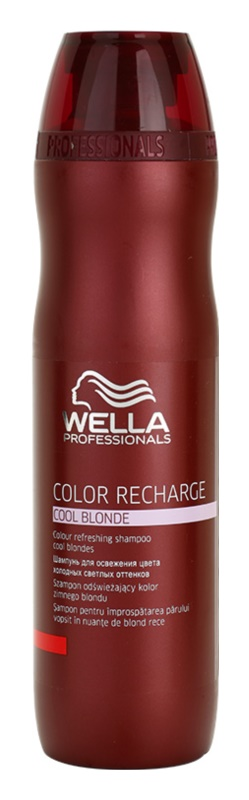 wella professionals color recharge shampoing violet pour. Black Bedroom Furniture Sets. Home Design Ideas