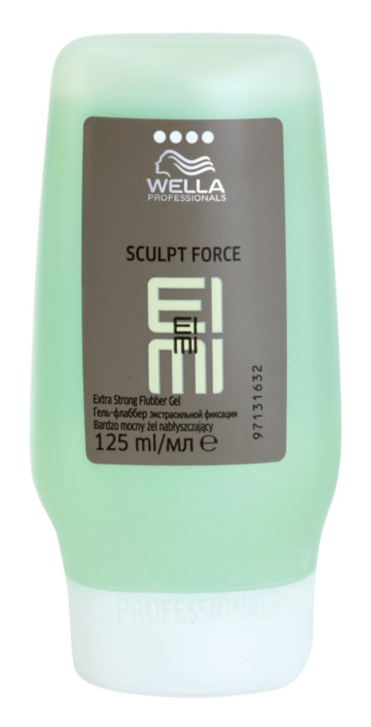 Wella Professionals Eimi Sculpt Force gel modelador fixação extra forte