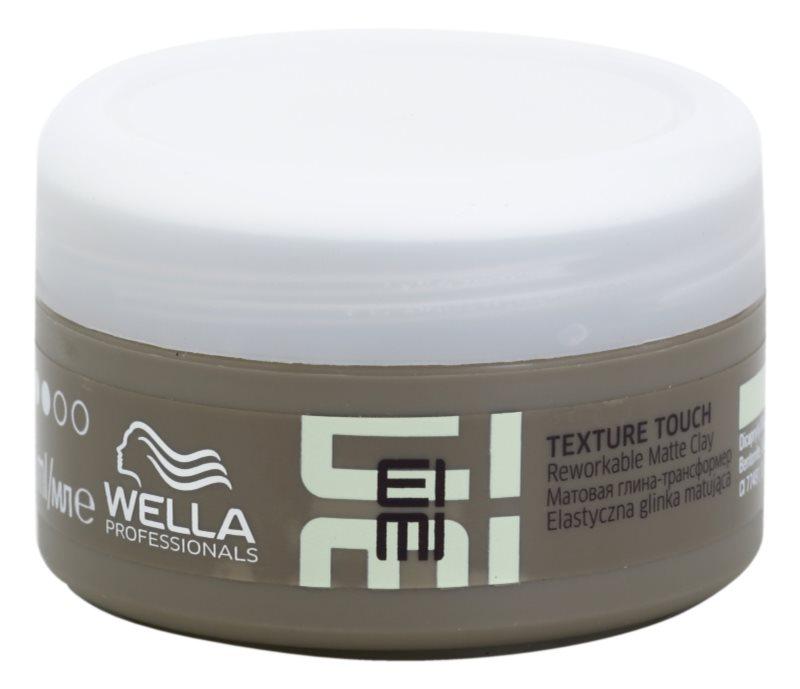Wella Professionals Eimi Texture Touch stylingový jíl na vlasy s matným efektem