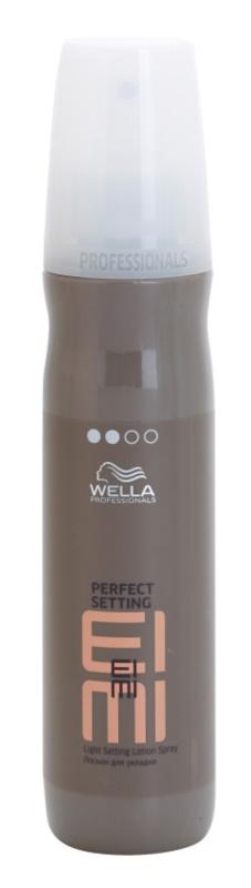 Wella Professionals Eimi Perfect Setting fixačný sprej na lesk a hebkosť vlasov