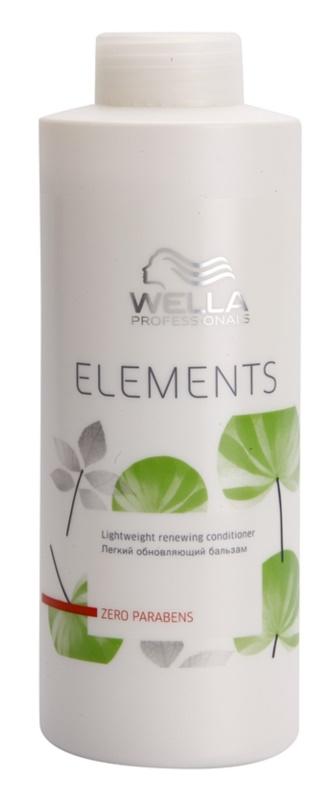 Wella Professionals Elements condicionador restaurador sem parabenos