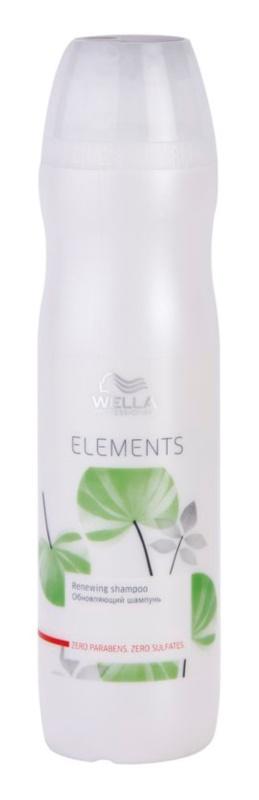 Wella Professionals Elements megújító sampon szulfát és parabén nélkül