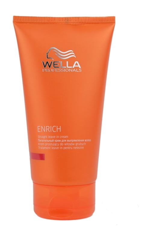 Wella Professionals Enrich Straight Leave In Cream