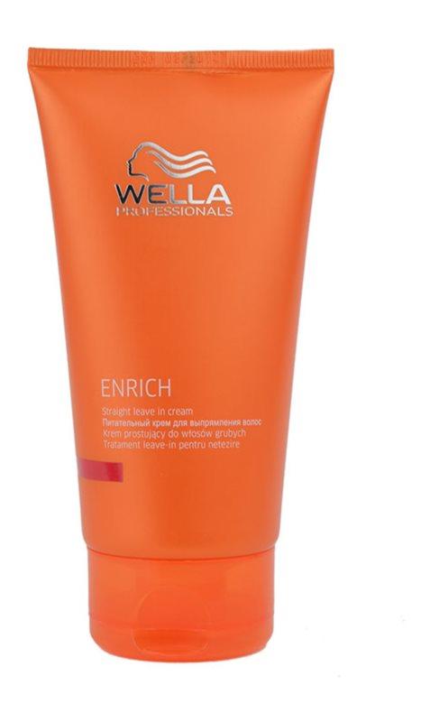 Wella Professionals Enrich vyhladzujúca a rojasňujúca starostlivosť pre nepoddajné a krepovité vlasy