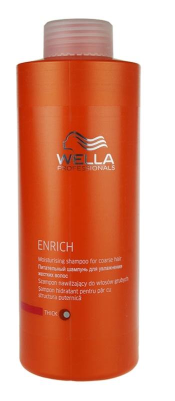 Wella Professionals Enrich hydratační šampon pro silné, hrubé a suché vlasy
