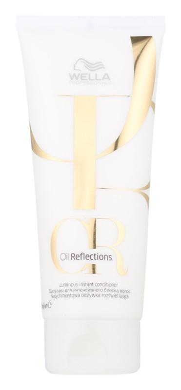 Wella Professionals Oil Reflections acondicionador alisador para dar brillo y suavidad al cabello