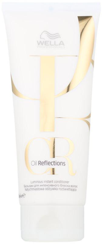 Wella Professionals Oil Reflections condicionador alisante para cabelo brilhante e macio