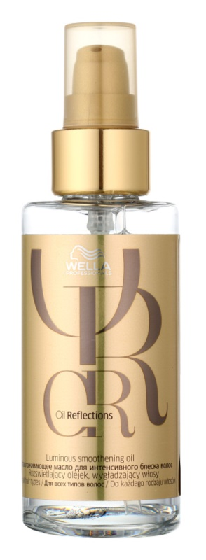 Wella Professionals Oil Reflections Smoothing Oil For Shine And Softness Of Hair