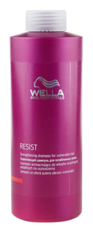 Wella Professionals Resist champô para cabelo fraco e cansado