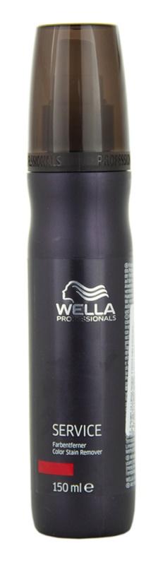 Wella Professionals Service emulzia pre odstránenie farby na vlasy z kože pre odfarbené vlasy