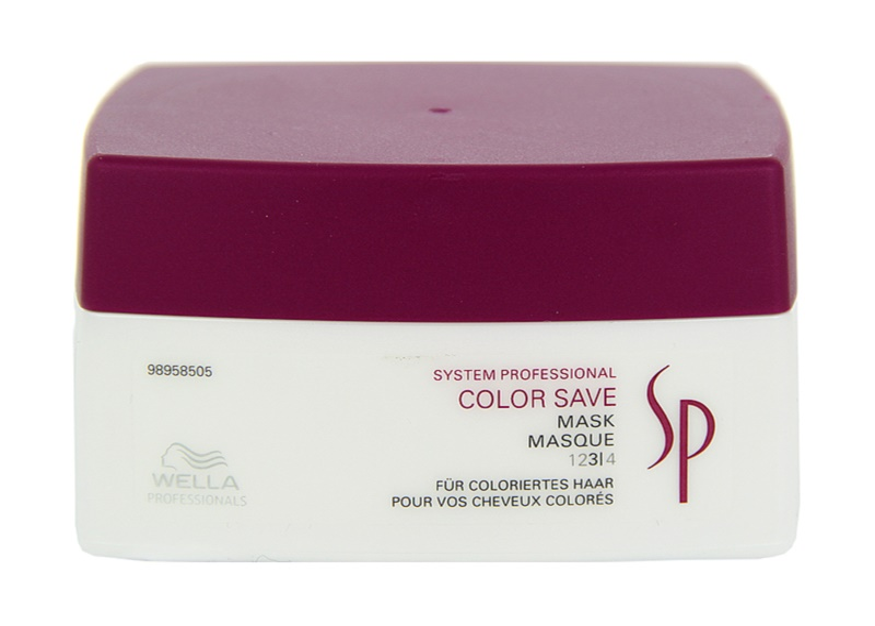 Wella Professionals SP Color Save maszk festett hajra