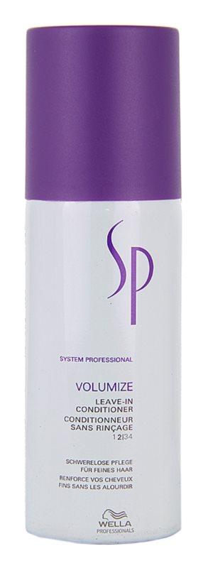 Wella Professionals SP Volumize condicionador para cabelo fino e sem volume