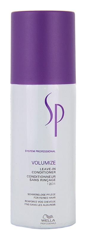 Wella Professionals SP Volumize kondicionér pre jemné vlasy bez objemu