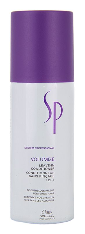 Wella Professionals SP Volumize kondicionér pro jemné a zplihlé vlasy