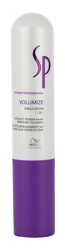 Wella Professionals SP Volumize Emulsion For Fine Hair And Hair Without Volume