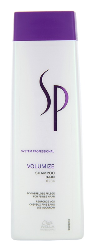Wella Professionals SP Volumize šampón pre jemné vlasy bez objemu