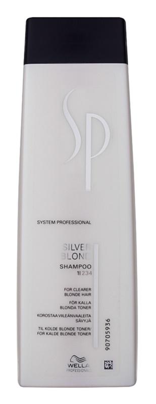 Wella Professionals SP Silver Blond champú para cabello rubio y canoso