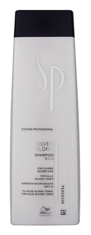 Wella Professionals SP Silver Blond Shampoo For Blonde And Gray Hair