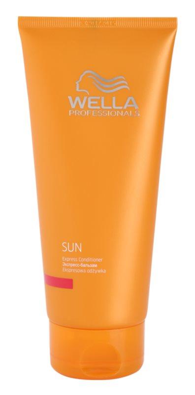 Wella Professionals SUN balsam regenerator express dupa expunerea la soare
