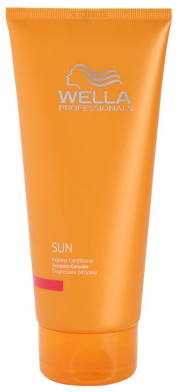 Wella Professionals SUN expresní regenerační kondicionér po opalování