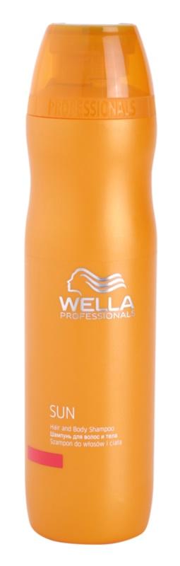 Wella Professionals SUN champô de corpo e cabelo pós-solar