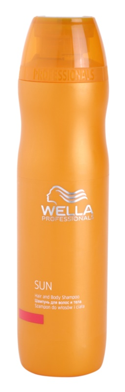 Wella Professionals SUN vlasový a telový šampón po opaľovaní