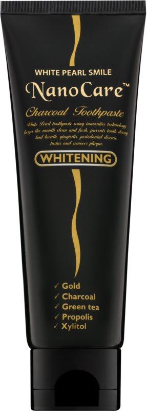White Pearl NanoCare Whitening pasta za zube s nanočesticama zlata i aktivnog ugljena