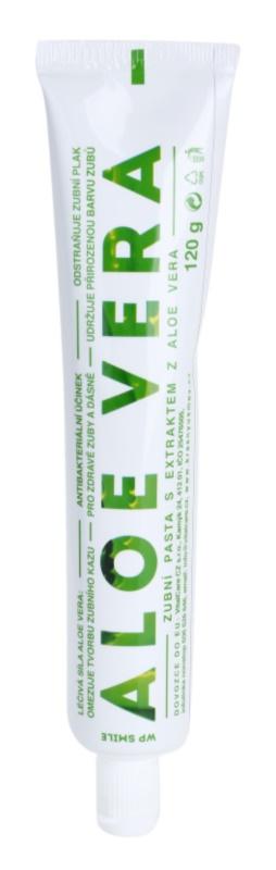 White Pearl Smile Aloe Vera dentífrico para dentes e gengivas saudáveis