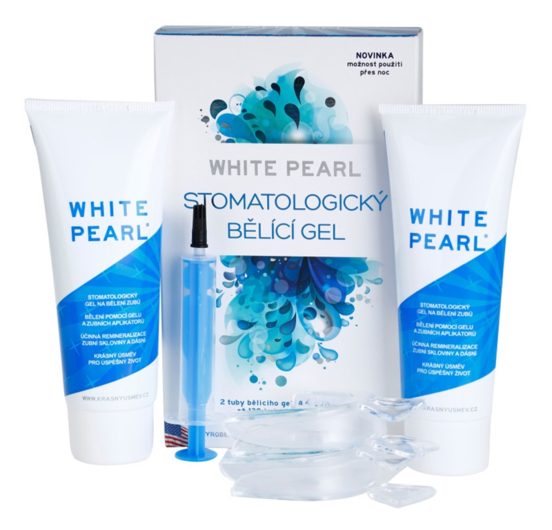 White Pearl Whitening System Gel Clareador Dental Notino Pt
