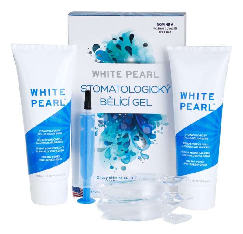 White Pearl Whitening System gel sbiancante stomatologico
