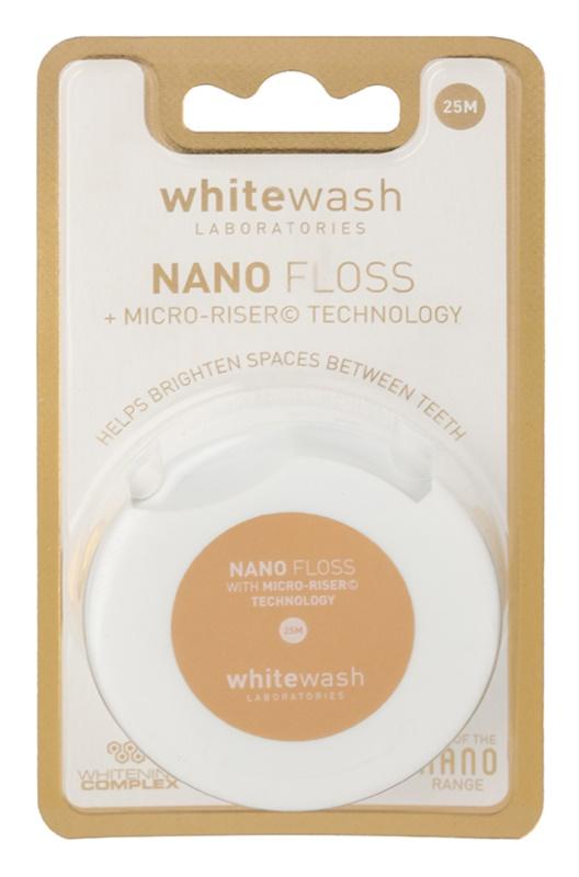 Whitewash Nano hilo dental con efecto blanqueador