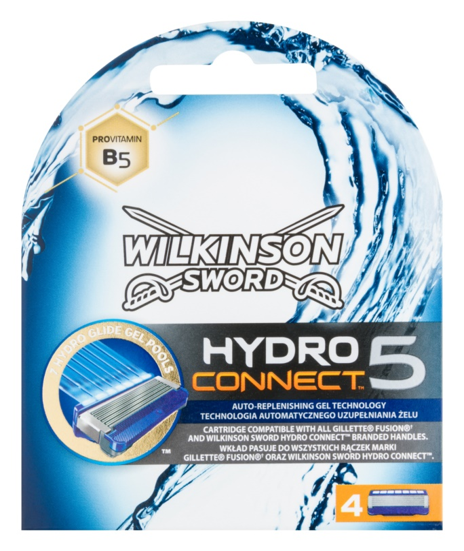 Wilkinson Sword Hydro Connect 5 Резервни остриета 4 бр